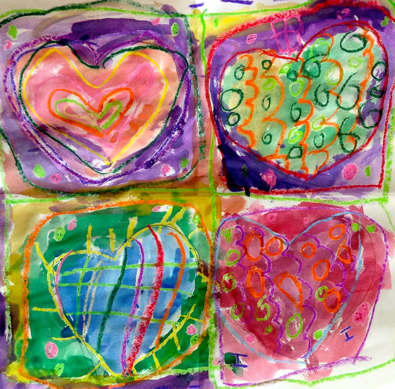 jim dine hearts by the star room  u2013 synergeyes