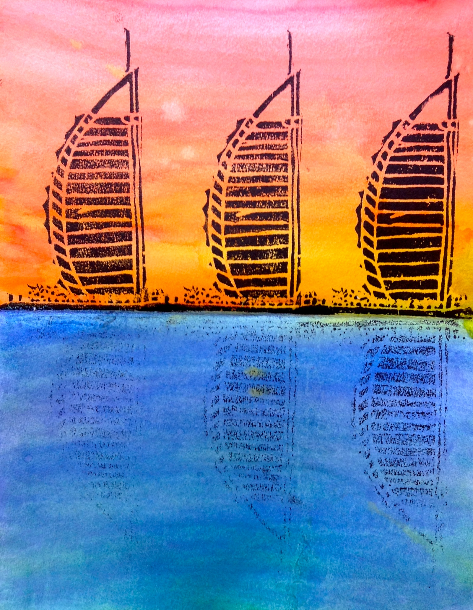 Famous Building Prints by 7th Grade – Synergeyes