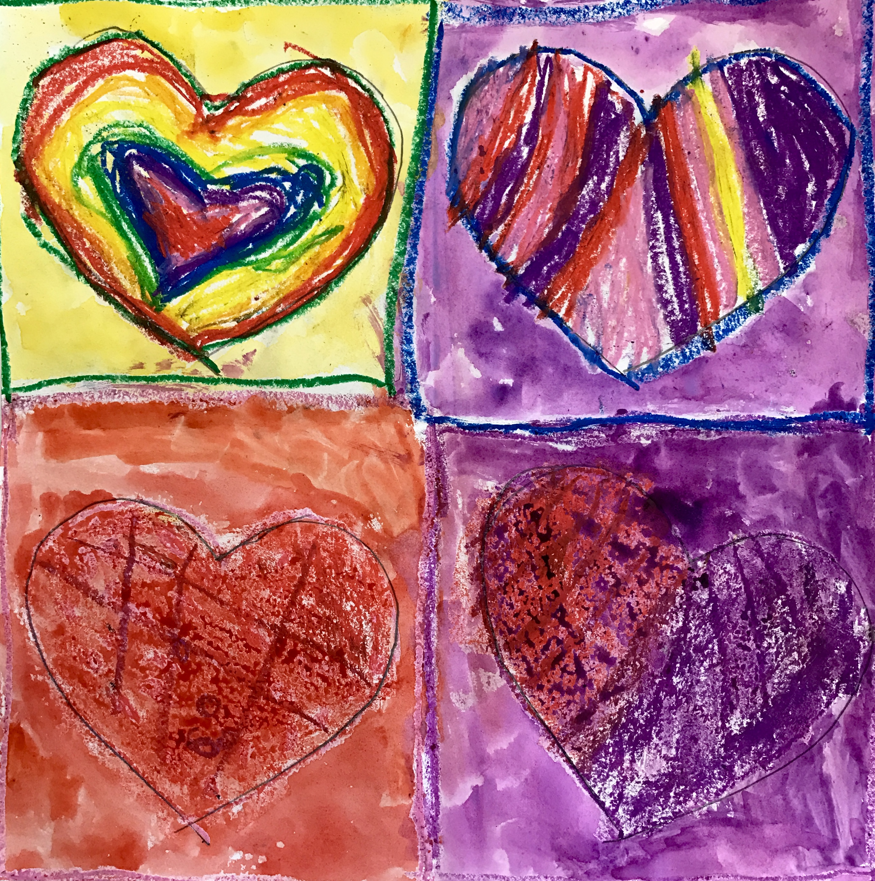 jim dine inspired hearts by the star room  u2013 synergeyes